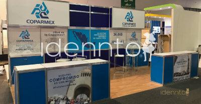 Renta de Stands de aluminio: Coparmex