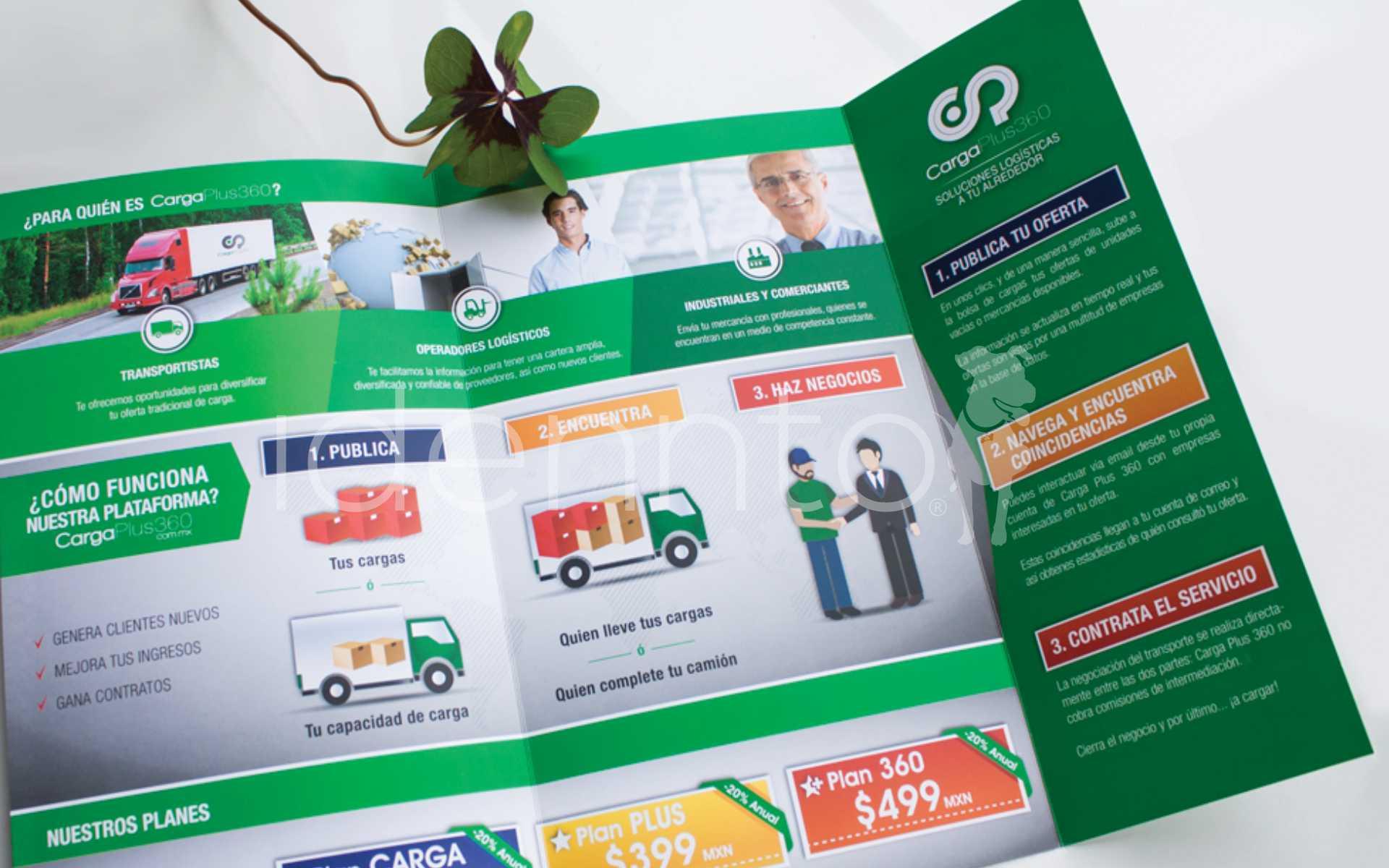 Publicidad Carga Plus 360